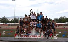 Dakota 1600m relay podium.jpg