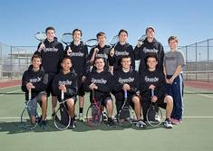 2013-14 Boys Tennis Team