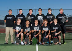 2014-2015 Boys' Tennis Team