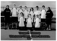 2015-2016 Boys' Tennis Team